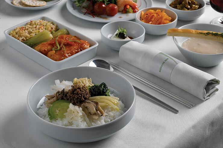 대한항공 기내식 인기 메뉴, 비빔밥.