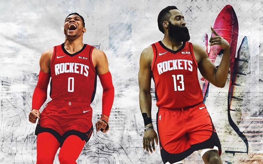2019-2020 NBA 시즌의 트렌드는 누가 뭐래도 '듀오'입니다. 7년만에 다시 재회한 제임스 하든과 러셀 웨스트브룩 조합은 성공할 수 있을까요?