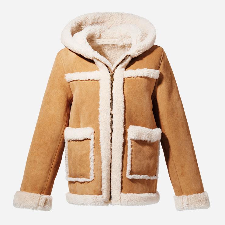 무톤 재킷 가격미정 산드로.