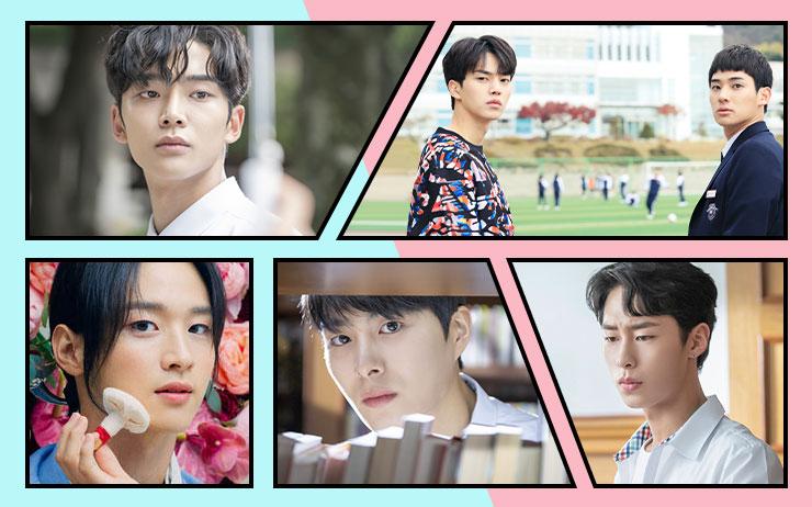당신의 '눈호강'을 책임지고, 외로움을 달래줄 청춘 드라마 '남주'들을 소개한다.