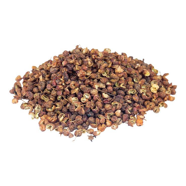 화조유▶마라탕에 첨가하는 그 오일이다. 산초에서 추출한 향을 입힌 향미유로, 산초는 예로부터 복통과 설사 등에 사용해왔다.