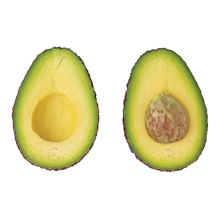 아보카도 오일▶지방 분해에 도움을 주는 오메가-3 지방산이 풍부해 다이어트 식품으로 주목받는다. 발연점이 271℃로 높은 편이라 튀김 요리에 좋다.