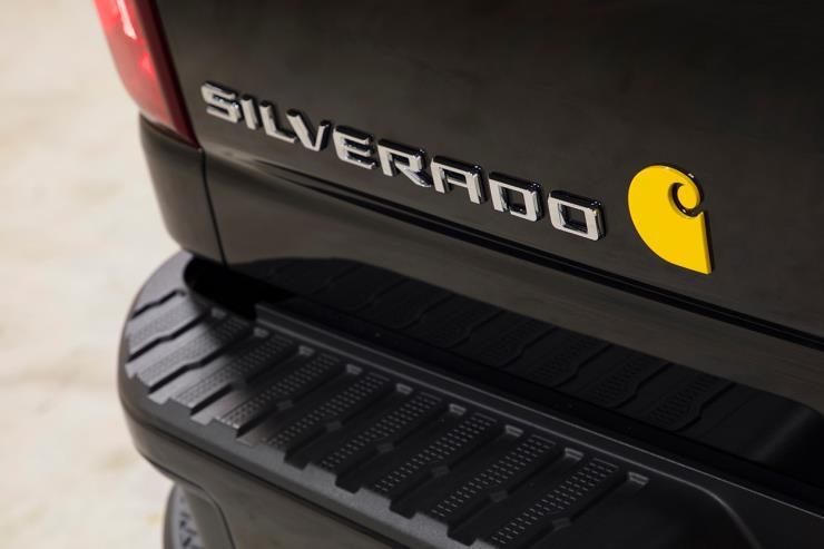 Chevrolet 2021 Silverado HD Carhartt Special Edition