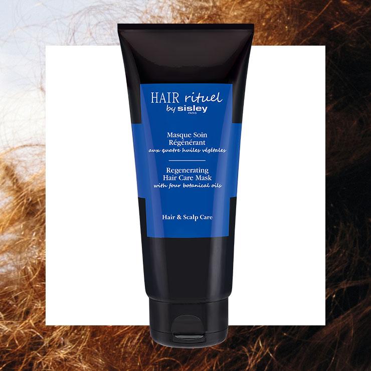 식물성 오일이 모발에 영양을 주는 리제너레이팅 헤어 케어 마스크, 11만원, Hair Rituel by Sisley.