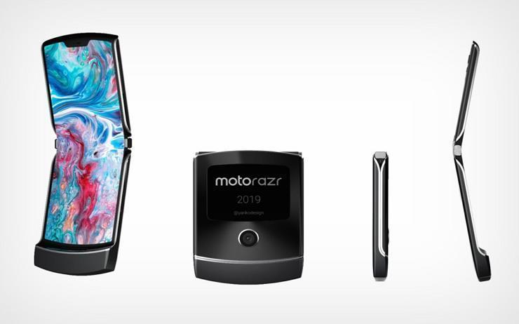 모토로라가 추억의 폴더폰 레이저를 폴더블폰으로 새롭게 출시한다.