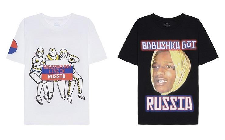 에이셉 라키가 러시아 투어를 기념하며 SV 모스코와 협업 컬렉션을 발표했습니다.