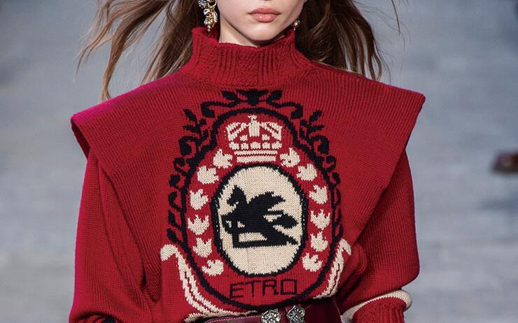 눈, 꽃, 사슴.... 노르딕 스웨터의 포근함을 즐길 때.
