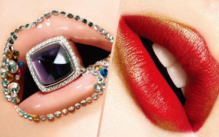 친절한 말을 담아내는 아름다운 입술의 향연.