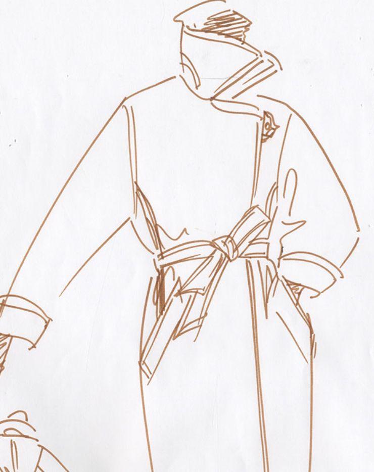 막스마라 마누엘라 코트 스케치 ©MAX MARA 제공