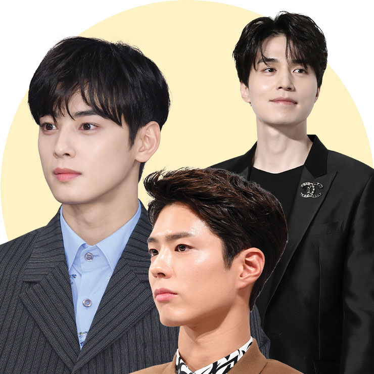 (왼쪽부터)박보검 / 차은우 / 이동욱
