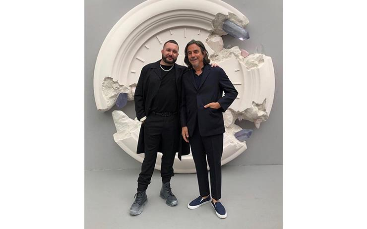 디올맨의 아티스틱 디렉터 킴 존스와 숀 스투시의 만남은 2020 가을 컬렉션 중 가장 기대되는 협업임에 틀림없다.