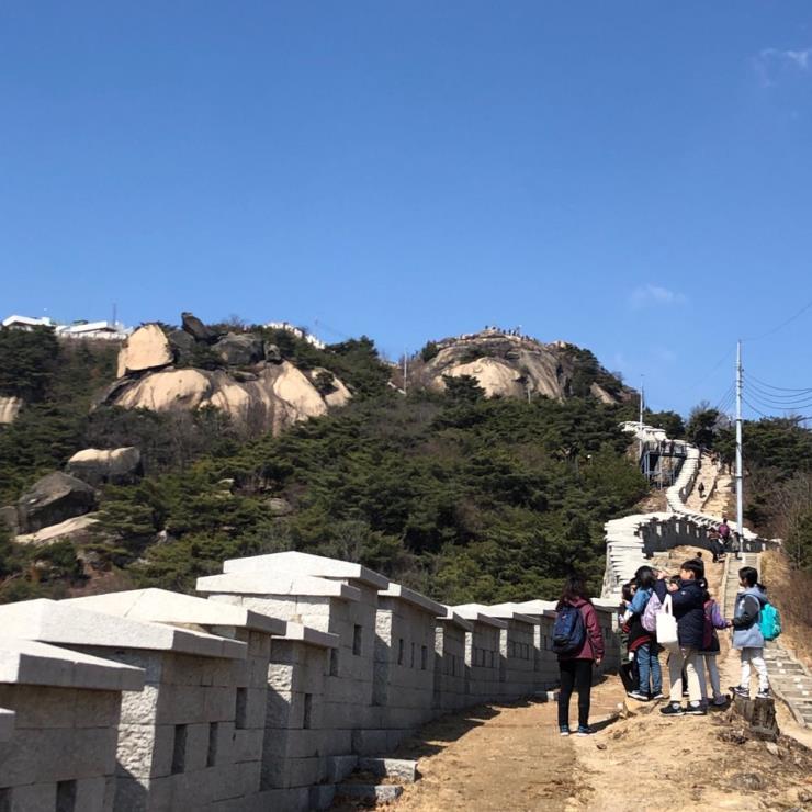 인왕산 성곽 길