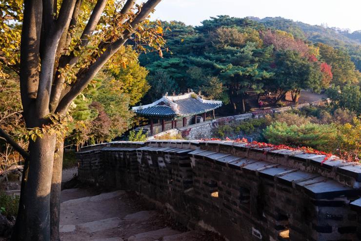 남한산성 성곽