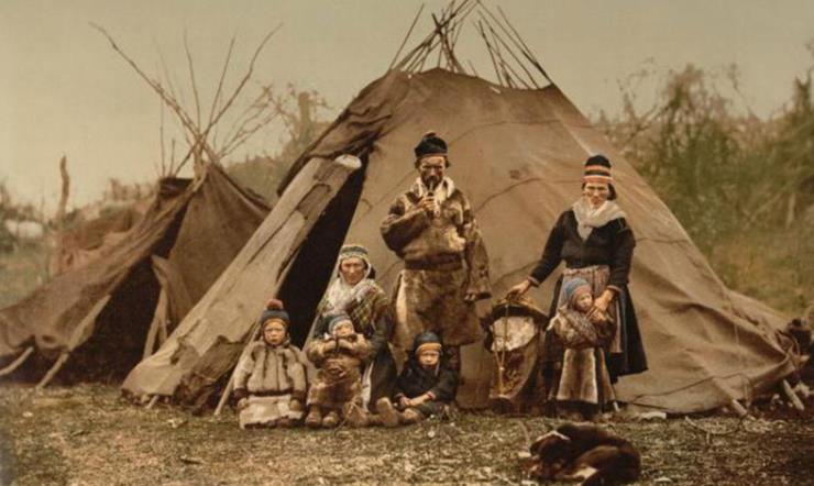 북유럽 소수민족 사미인 (출처 : 위키백과)
