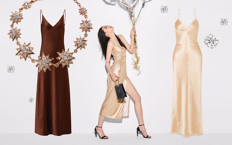 화려한 홀리데이 파티가 열렸다. 때론 우아하게, 때론 글래머러스하게! 에디터가 제안하는 6가지 드레스 스타일을 참고해 파티의 진정한 주인공이 되자.