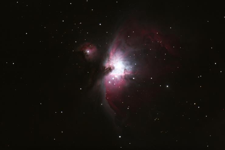 국토정중앙 천문대에서 관측한 오리온 대성운