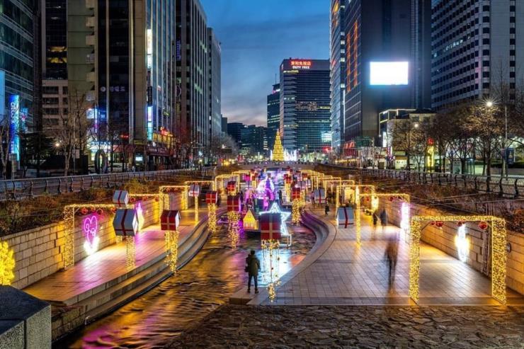 2018년 서울 크리스마스 페스티벌 전경 @korea_nightview