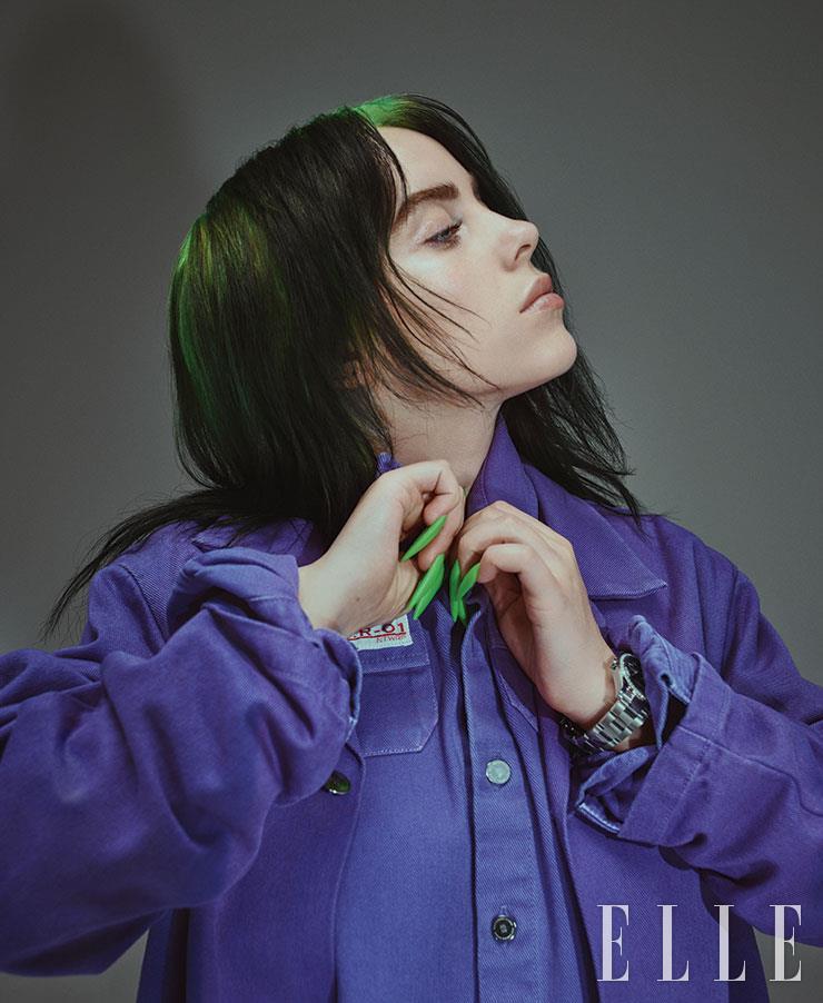 재킷과 셔츠는 모두 Raf Simons. 시계는 Rolex.