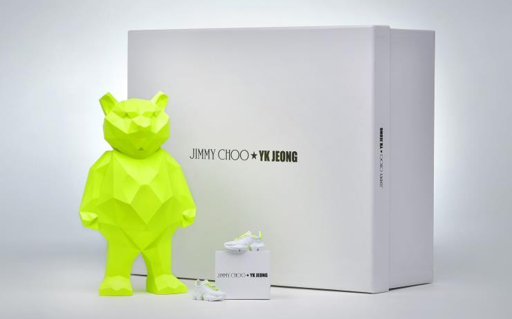 글로벌 액세서리 브랜드 지미추와 스타일리스트 정윤기의 핫한 컬래버레이션.