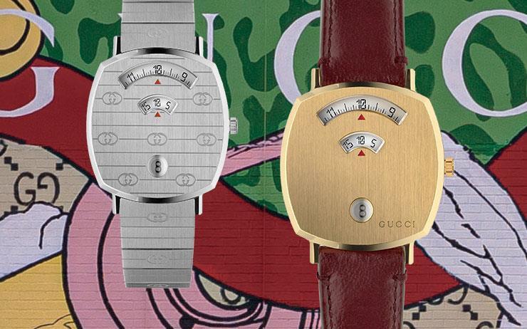 성별과 세대를 초월한 구찌 타임피스앤주얼리의 새로운 시계 '그립(Grip)'을 런던에서 만났다.