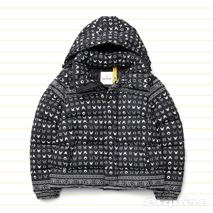 피카추 패턴 오버사이즈 다운재킷 가격 미정 7 몽클레르 프래그먼트 히로시 후지와라.