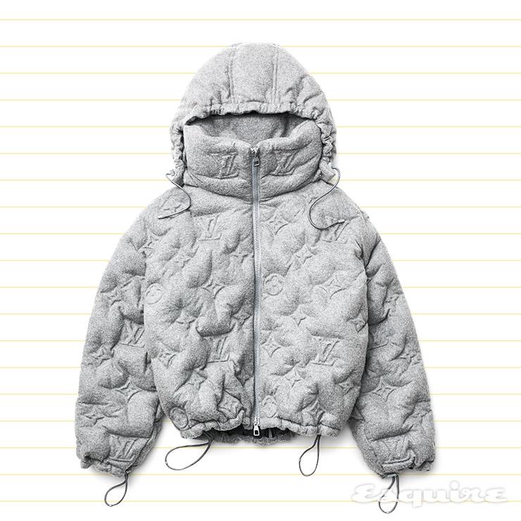 모노그램 오버사이즈 다운재킷 가격 미정 루이 비통.