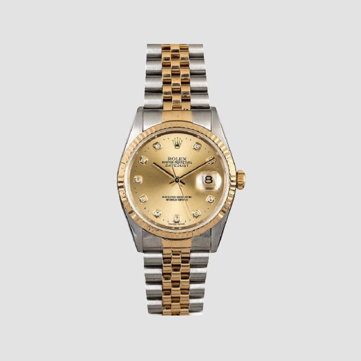 매일 착용하고 다니는 롤렉스 시계.
