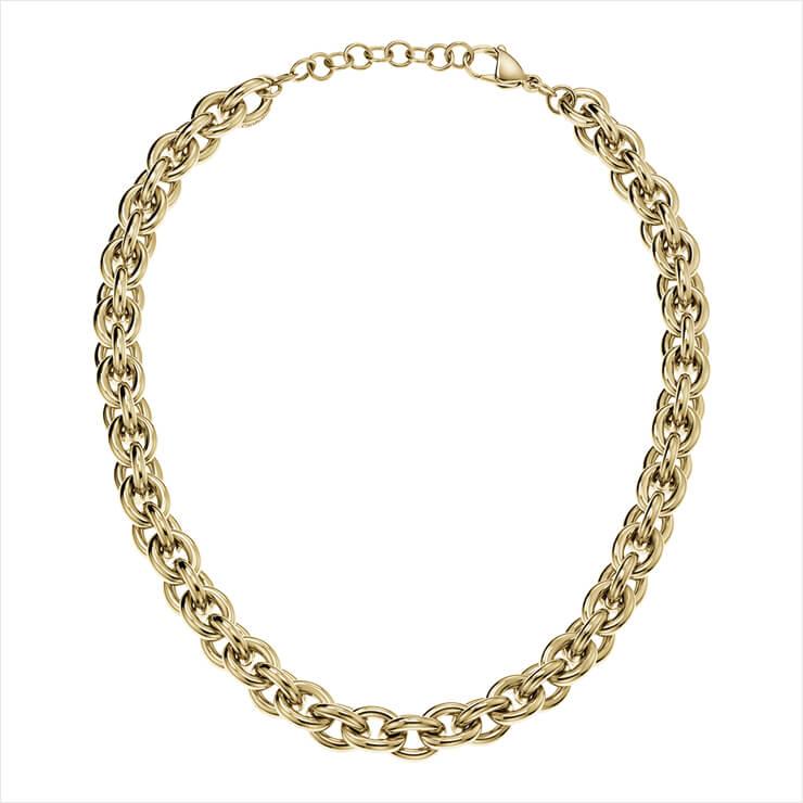 골드 네크리스는 20만원, Calvin Klein Watches + Jewelry.