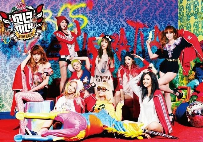 소녀시대 'I Got a Boy', 2013