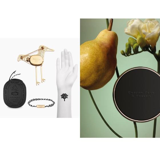 (왼) 딥티크의 레디 투 퍼퓸 컬렉션 (오) 조 말론 런던의 센트 투 고