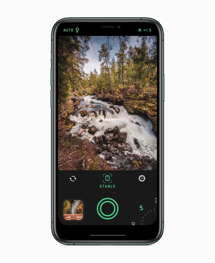 올해의 iPhone 앱_ Spectre 카메라