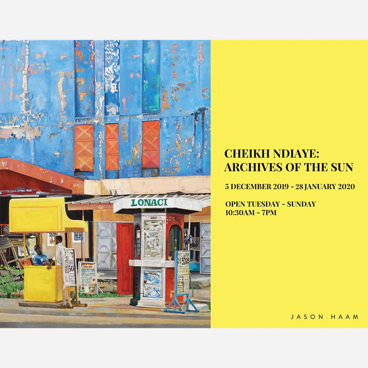 Cheikh Ndiaye: Archives of the Sun