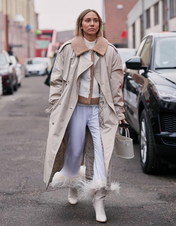 모델 리사 올슨.