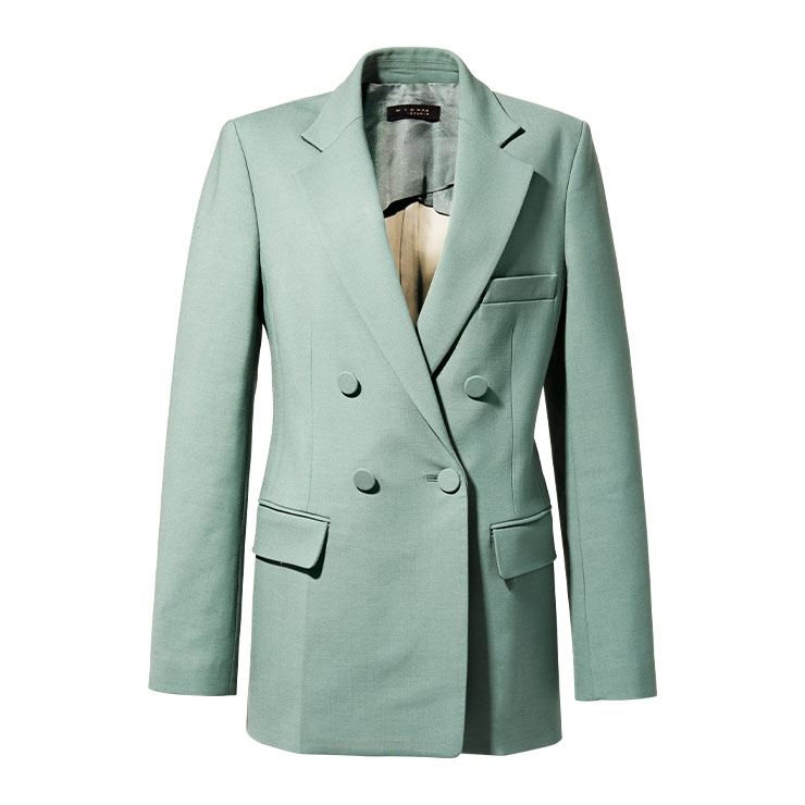 슈트 재킷 99만9천원 미샤.