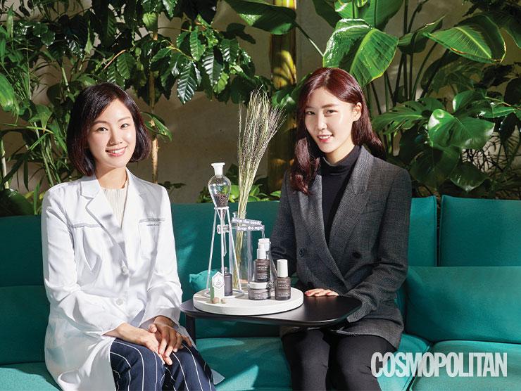 (왼쪽부터)프리메라 브랜드 사이언스 랩 송재하 연구원, 브랜드 매니저팀 이은영