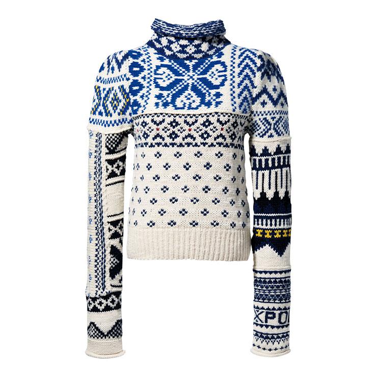 터틀넥 스웨터 70만원대 폴로 랄프 로렌.