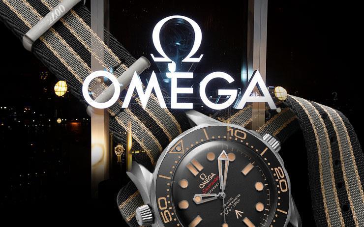 대니얼 크레이그의 마지막 제임스 본드 워치가 공개됐다. 씨마스터 다이버 300M 007 에디션.