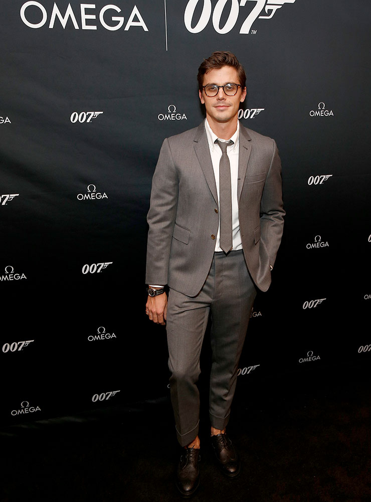 파티에 참석한 TV 스타 안토니 포로우스키.