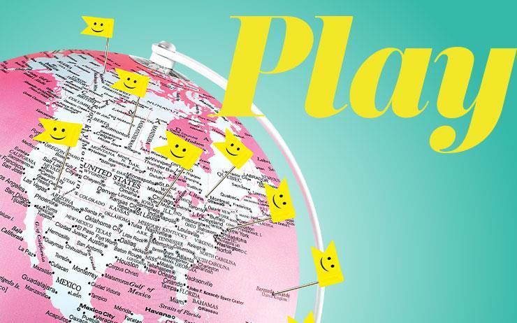 전 세계 유저들이 행복감을 느꼈던 장소를 체크인하고, 공유하는 네트워크 서비스.