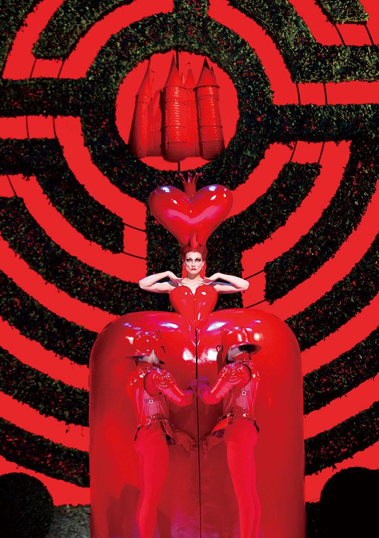 Alice in Wonderland, The Royal Ballet, Zenaida Yanowsky Ⓒ roh, Johan Persson, 2011