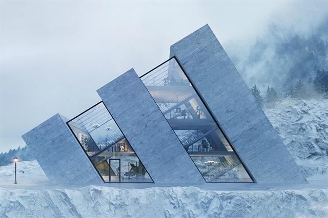 실제로 만들어지진 않았는데요. 폴란드 건축 디자이너 '카리나 비치아크'의 디자인이다.