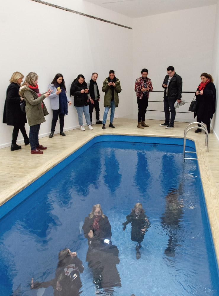 Swimming Pool / La Pileta (1999), MALBA, Buenos Aires, Argentina, 2019.