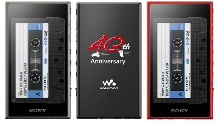 소니코이라가 워크맨 출시 40주년을 기념한 한정판 모델을 국내 출시한다.