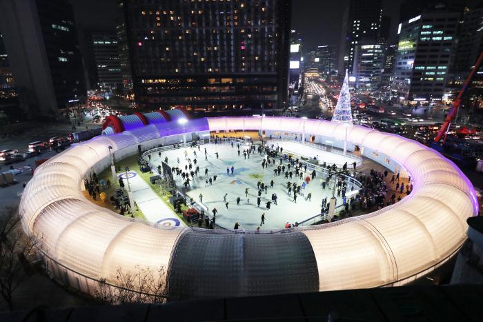 서울시청 아이스링크
