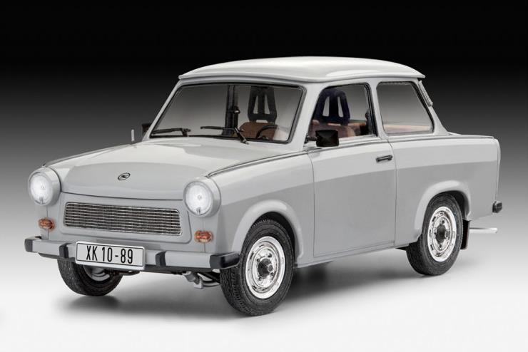 독일의 프라모델 '레벨(Revell)'이 트라반트 601 프라모델을 공개.