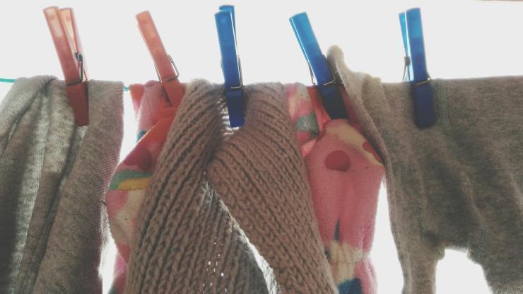 겨울 옷 세탁법