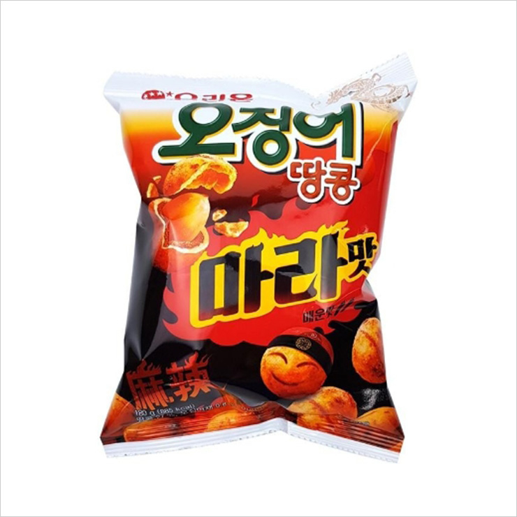 오징어 땅콩 마라 맛