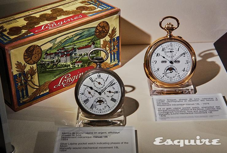 1800년대에 만든 회중시계. 잘 만든 시계는 세월이 지날수록 기품을 더한다.
