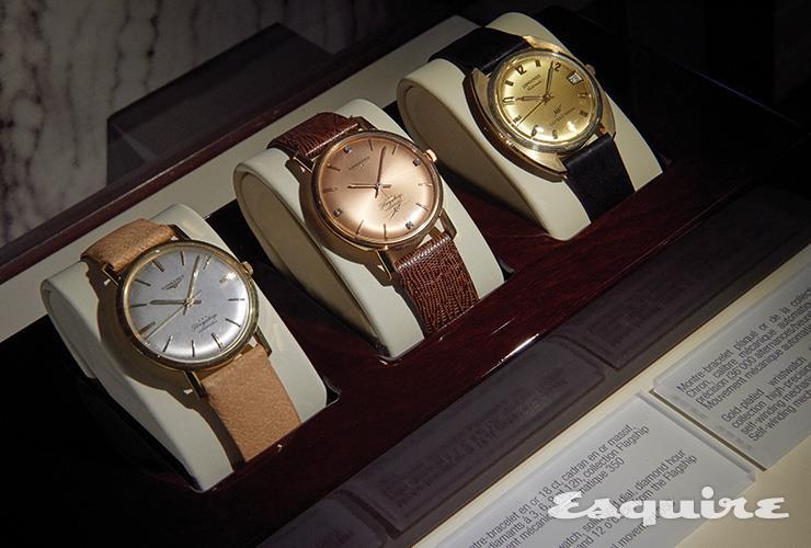1960년대에 만든 손목시계. 깔끔하고 중후한 디자인이 지금 봐도 멋지다.