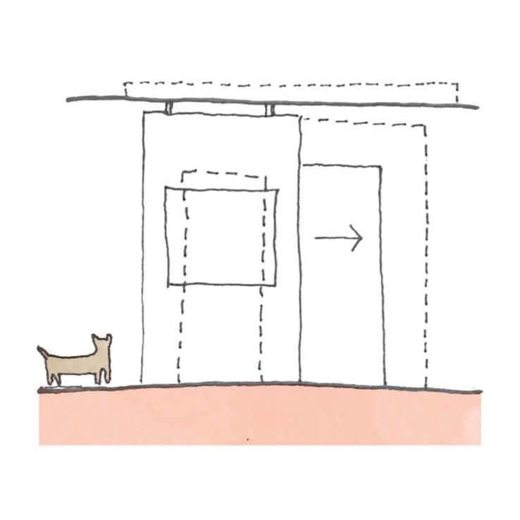 비유에스건축이 설계한 '쓸모의 발견' 공간 다이어그램. Ⓒ B.U.S Architecture